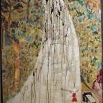 Strohl-Fern. La Pineta il viale il Pino bruciato, tecnica mista su tela - 86x100 - 2013