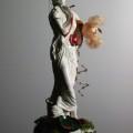 - OHOIBO', Tecnica mista: tempera, monili, fil di ferro, colla - 15x15x35 - € 200,00 (collezione privata)